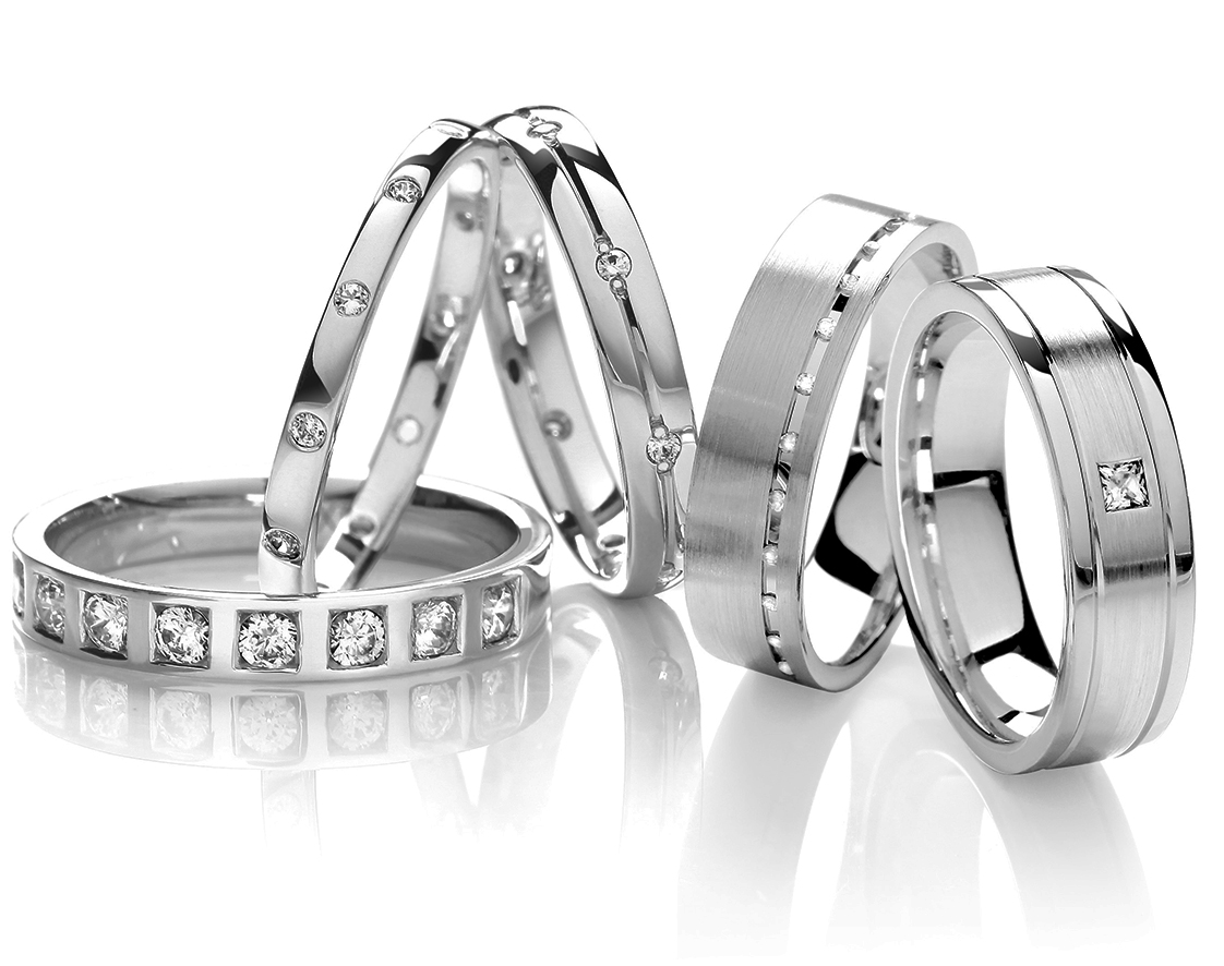 Wedding Bands jewellery by Robert James in Petts Wood
